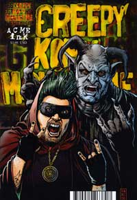 Creepy Cofy Movie Time Comic Book